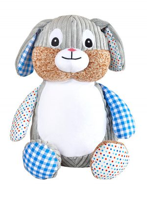Harlequin-Blue-Bunny