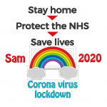 Stay home - coronavirus 2020