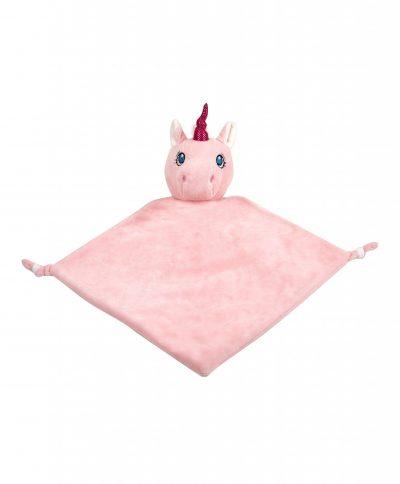 Unicorn-Blankie-Pink
