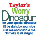 Worry Dinosaur